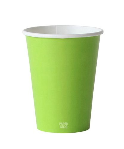 Copo de papel - Verde (10 unidades)