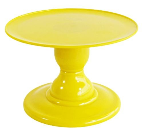 Boleira desmontável - Amarelo (13.5 cm h x 22 cm)