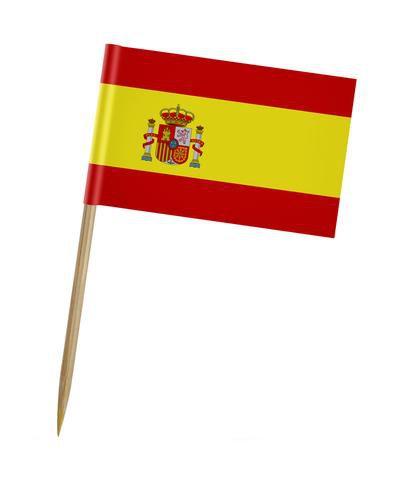 Pick dupla face - Bandeira Espanha (100 unidades)