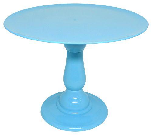 Boleira 23.5 cm altura - Azul Céu (escolha o tampo)