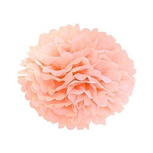 Flor papel Seda - Rosa Claro 35 cm (flor vendida fechada)