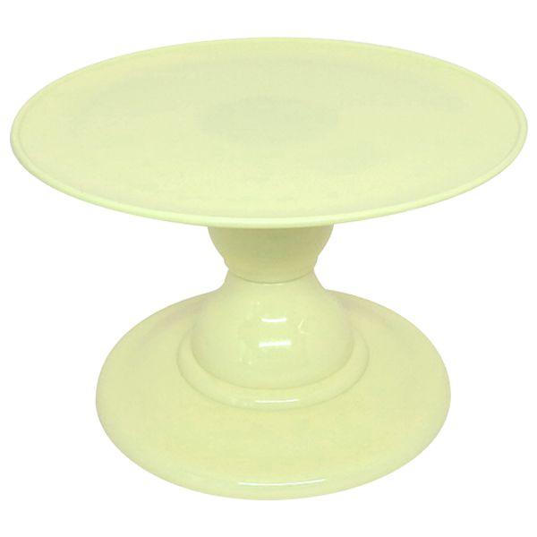 Boleira desmontável - Amarelo Candy (13.5 cm h x 22 cm)