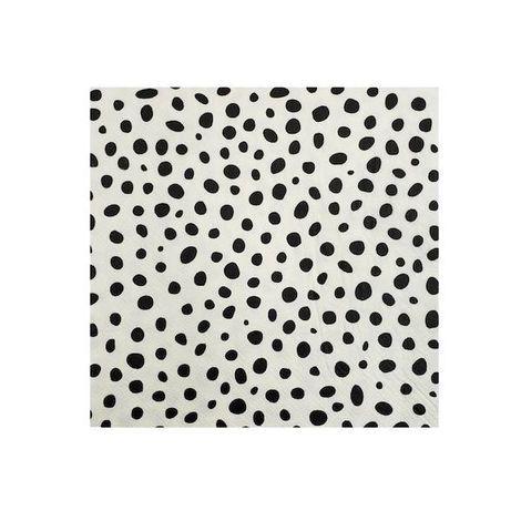 Guardanapo de papel Dalmata - 33cm (20 un)