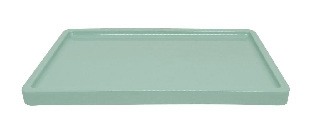 Bandeja para doces - verde Neo Mint (30x18x2cm)