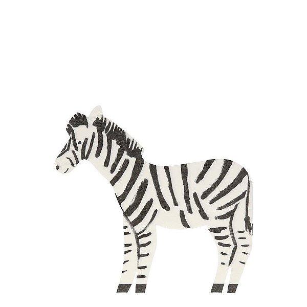 Guardanapo de papel Meri Meri - Zebra (20 unidades)