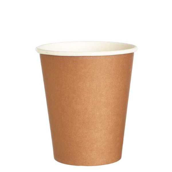 Mini Copo de papel Kraft (100 ml - 10 unidades)