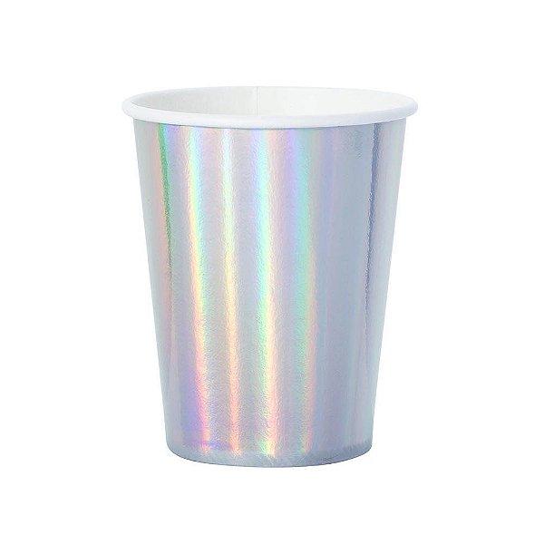Copo de papel - Iridescente / Furtacor (10 unidades)