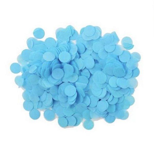 Confete bola pequeno - Azul (1 cm - 40g)