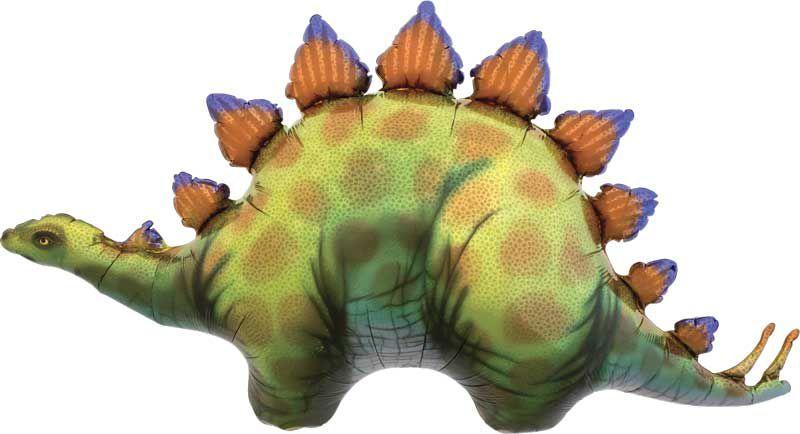 """Balão metalizado Dinossauros - Triceratops 50"""" 104x56 cm (unidade)"""