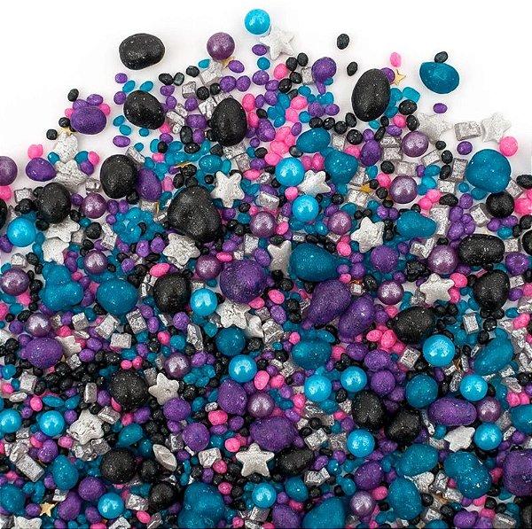 Confeito para Bolo - Galaxy Sprinkles  (109 gramas)