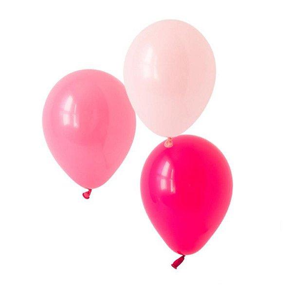 "Trios 11"" Ombré Pink - 3 cores (9 unidades)"
