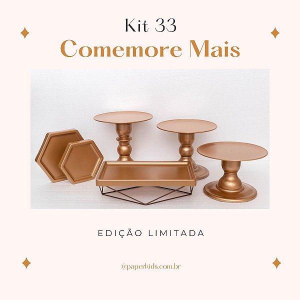KIT COMEMORE MAIS 33 - Premium Rose Gold