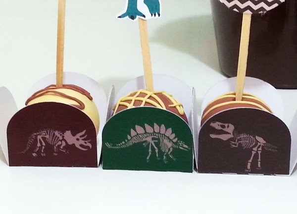 Forma para doce - festa Dinossauros (9 un)