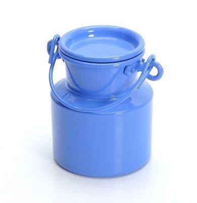 Leiteira de alumínio - Azul