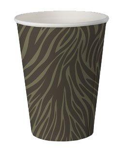 Copo de papel biodegradável - Camuflado (8 unidades)