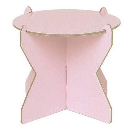 Mini Boleira 12 cm - Rosa Candy (papelão desmontável)