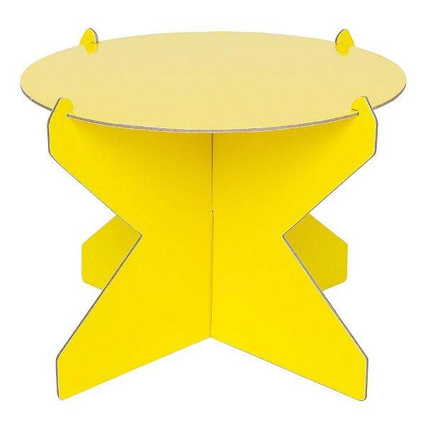 Boleira 26cm - Amarelo Siciliano (papelão desmontável)