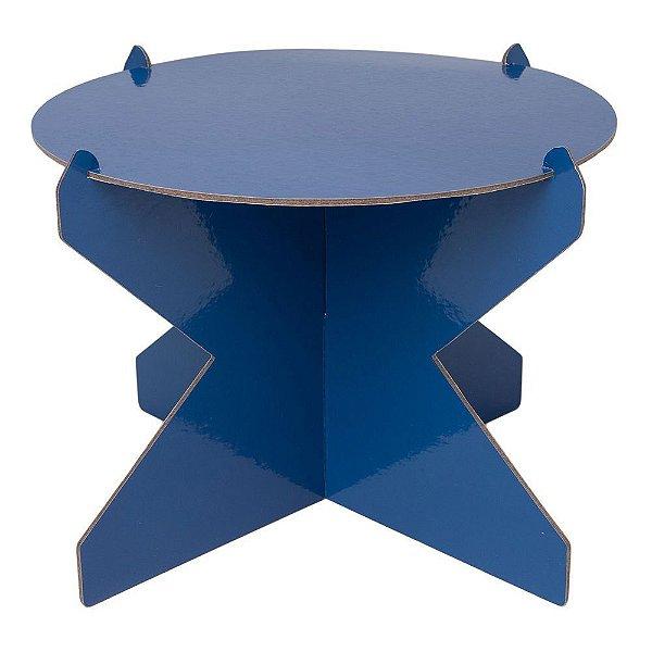 Boleira 26cm - Azul Espacial (papelão desmontável)