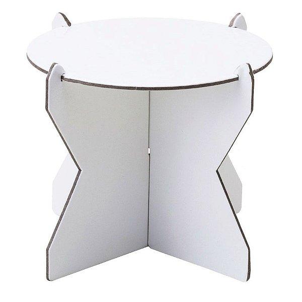 Mini Boleira 12 cm - Branco (papelão desmontável)