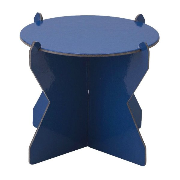 Mini Boleira 12 cm - Azul Espacial (papelão desmontável)