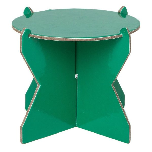 Mini Boleira 12 cm - Verde (papelão desmontável)