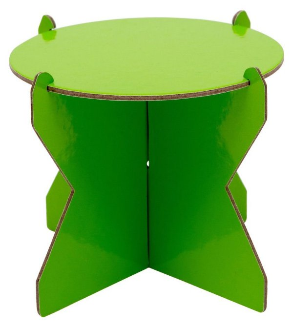 Mini Boleira 12 cm - Verde abacate (papelão desmontável)