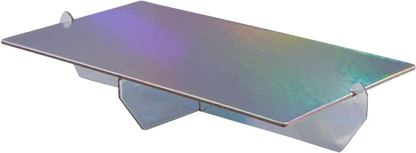 Bandeja retangular 14x25 cm - Furtacor (papelão desmontável)