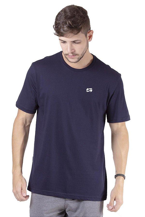 Camiseta Manga Curta Com Estampa Frente e Costa