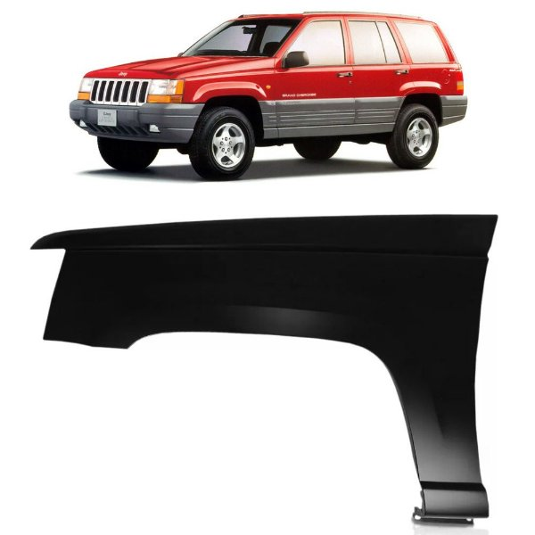 Paralama Lateral Jeep Cherokee 1993 a 1998 Lado Direito