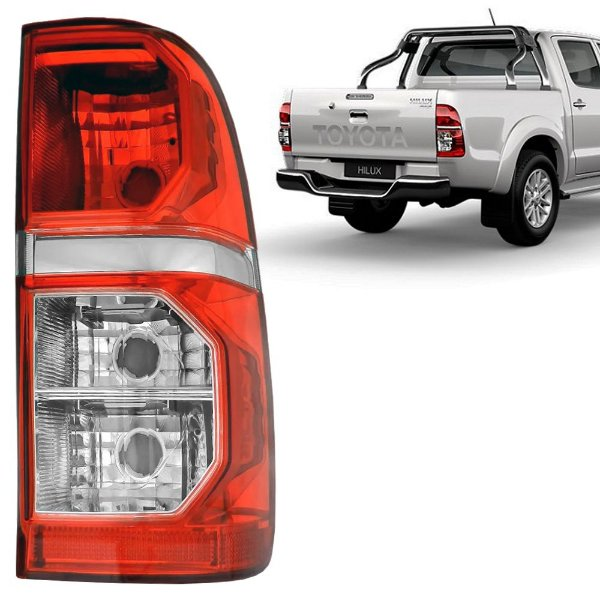 Lanterna Traseira Hilux 2012 a 2015 Serve 2005 a 2011