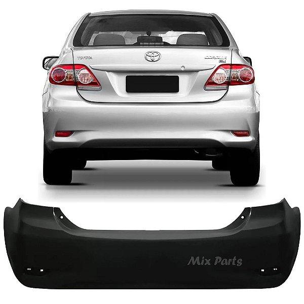 Parachoque Traseiro Toyota Corolla 2012 2013