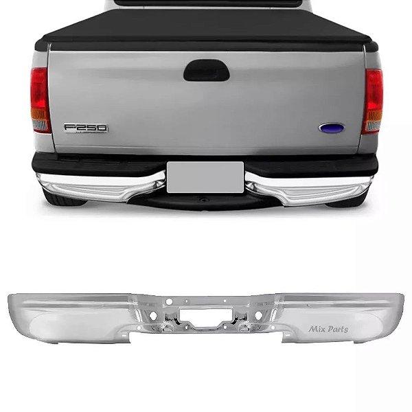 Parachoque Traseiro Cromado Ford F250 1999 a 2012