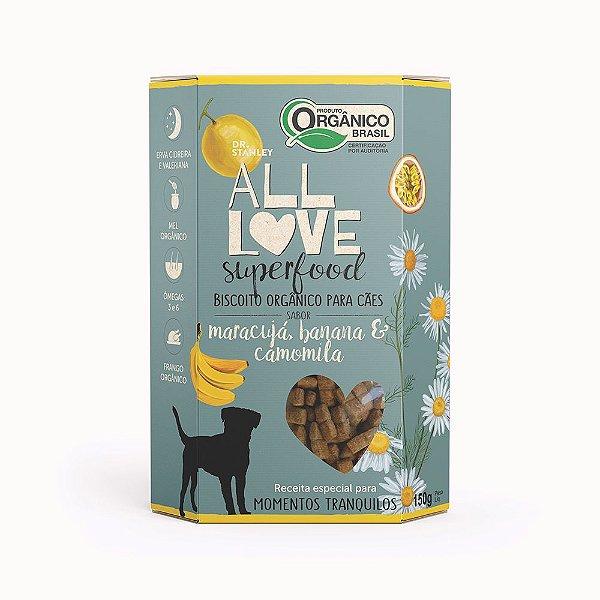 All Love - Superfood   Maracujá, Banana & Camomila 150g
