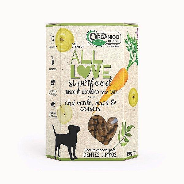 All Love - Superfood   Chá Verde, Maçã & Cenoura 150g