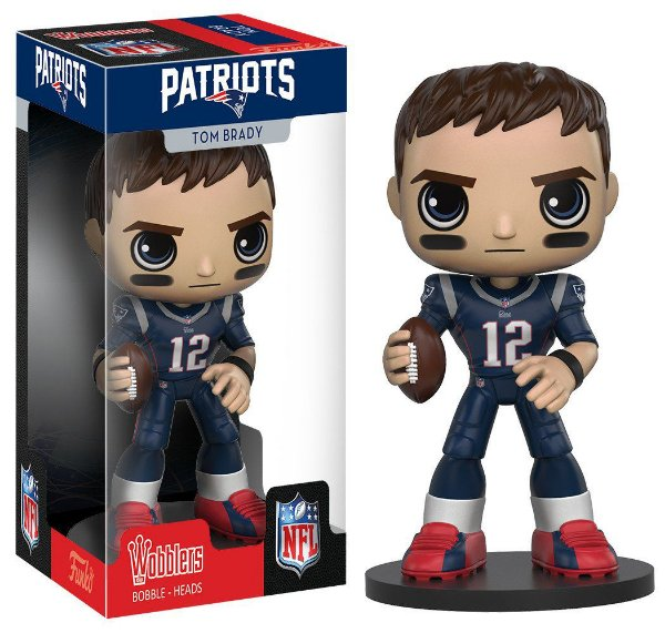 Funko POP Wobbler NFL Tom Brady New England Patriots - Turnover ... 4dade985efff1