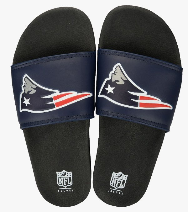 ... Funko Wobbler Tom Brady. Chinelo New England Patriots NFL Colors 372985af71322