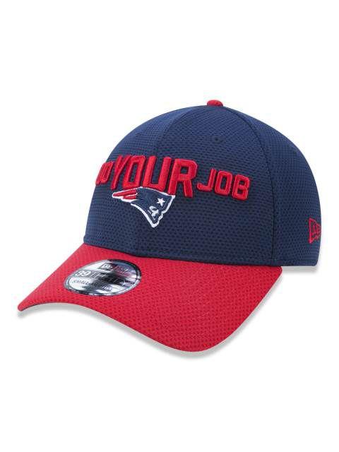 739cb5fb97ecb Boné Aba Curva New Era NFL New England Patriots - 3930 Nfl18 Spotlight  Neepat Otc