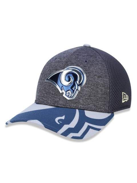 Boné Aba Curva New Era NFL Los Angeles Rams - 3930 Spotlight Losram Grh e83ccd0638b