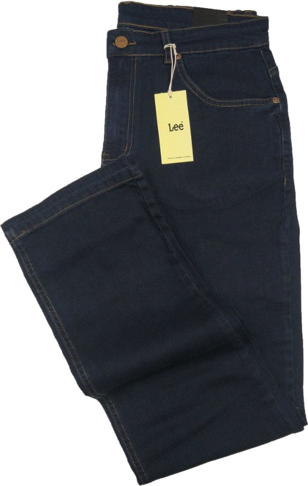 Calça Lee Chicago Masculina Reta Tradicional - Ref. 1113L (AZUL) - Algodão / Elastano - Jeans Macio