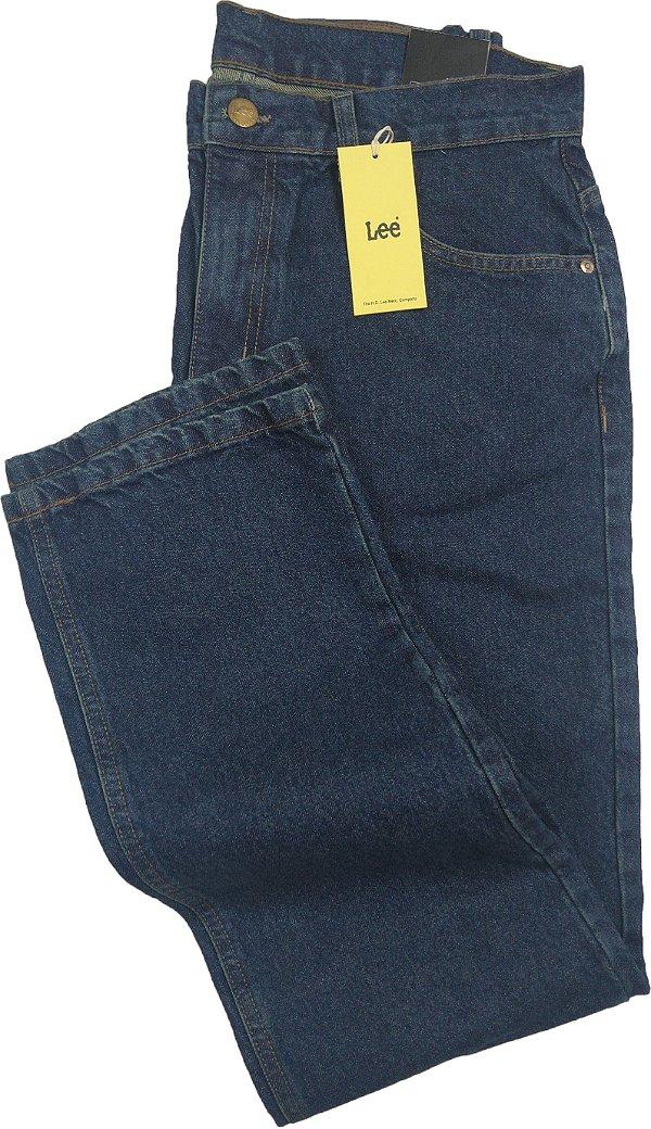 Calça Lee Chicago Masculina Reta Tradicional - Ref. 1018L - Jeans 100% Algodão