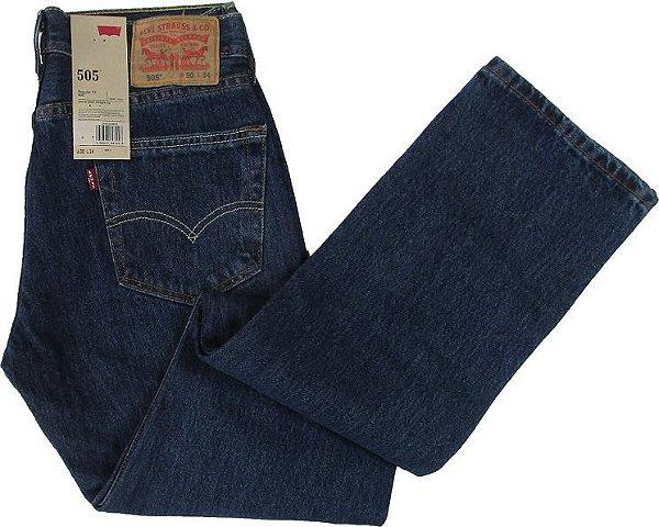 Calça Jeans Levis Masculina Corte Tradicional - Ref. 505-4886 (PLUS SIZE) - 100% Algodão