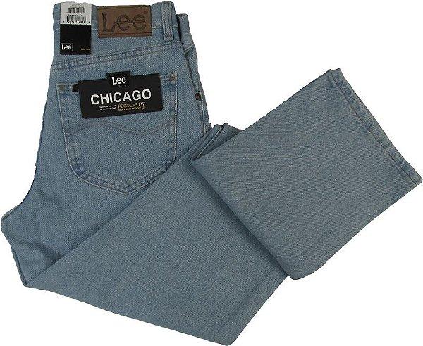 Calça Jeans Lee Original Chicago Masculina Reta Tradicional - Ref. 20001CT50 DELAVE - 100% Algodão