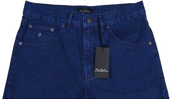 Calça Jeans Masculina Pierre Cardin Reta (CINTURA ALTA) - Ref. 463P140 (AZUL) - 100% Algodão