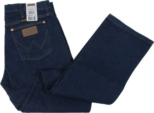 Calça Jeans Wrangler Reta Tradicional - Ref. 13MWZPW36 - 100% Algodão