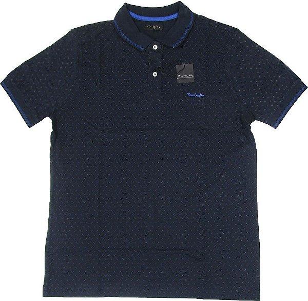 Camisa Polo Pierre Cardin (Sem Bolso) - 100% Algodão - Ref. 15515
