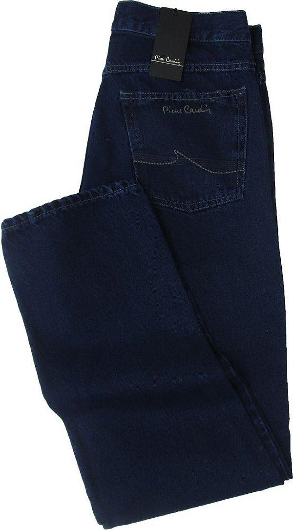Calça Jeans Masculina Pierre Cardin Reta Tradicional (Cintura Alta) - Ref. 463P275 - 100% Algodão