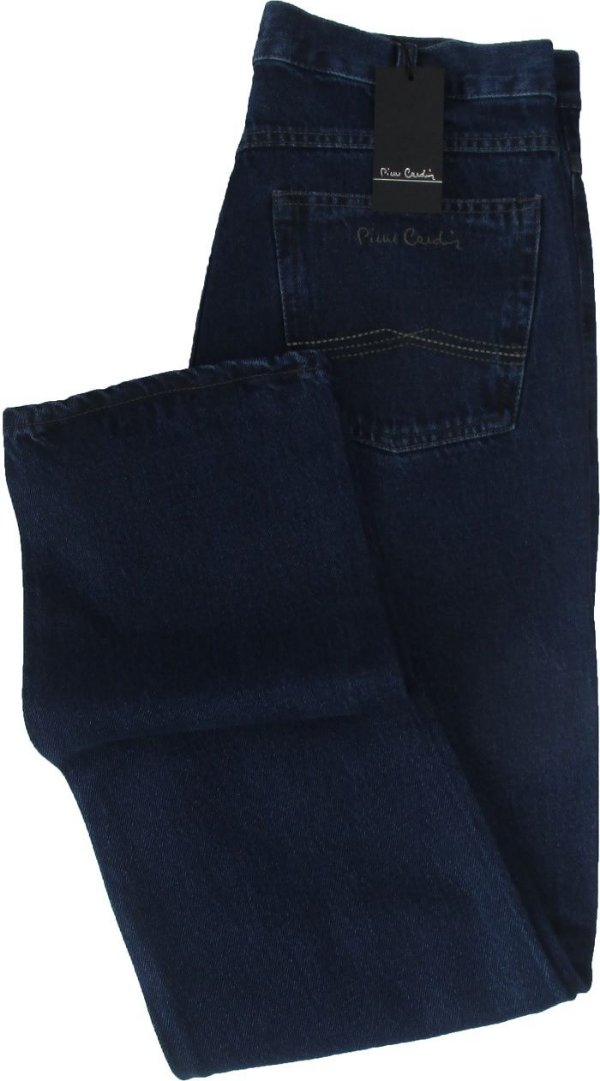 Calça Jeans Masculina Pierre Cardin Reta Tradicional (Cintura Alta) - Ref. 462P586 - 100% Algodão