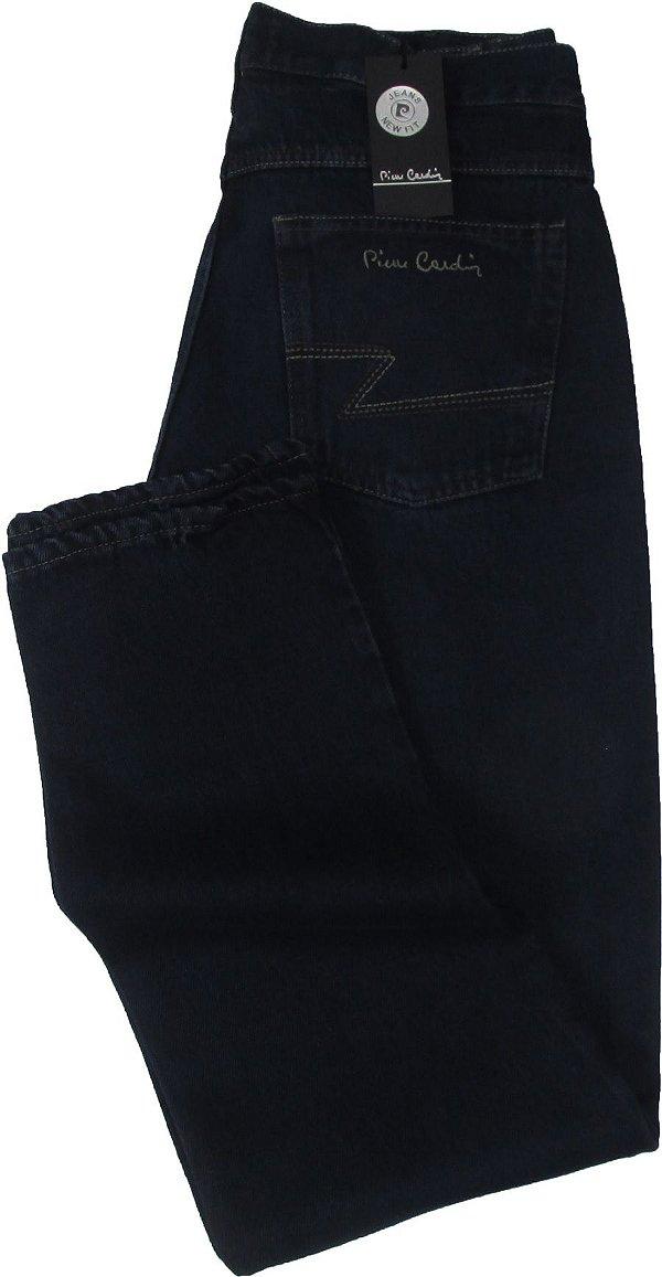 Calça Jeans Masculina Pierre Cardin Reta (Cintura Média) - Ref. 454P801 - 100% Algodão
