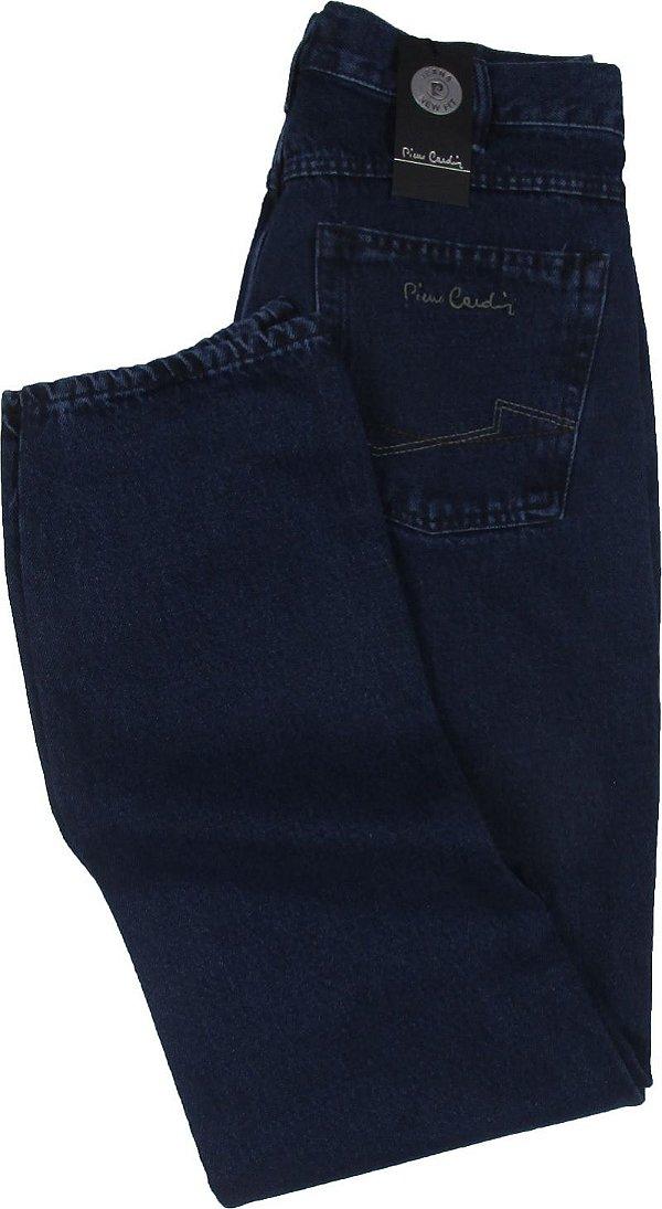 Calça Jeans Masculina Pierre Cardin Reta (Cintura Média) - Ref. 452P295 - 100% Algodão