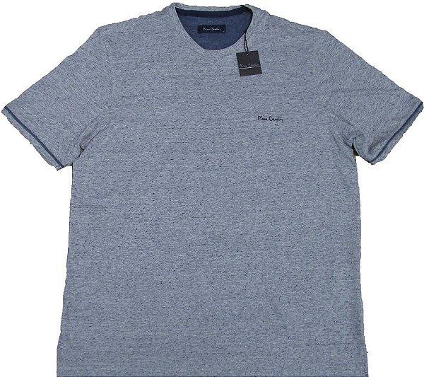 Camiseta Gola Careca Pierre Cardin  - 81% Algodão / 19% poliester - Ref. 42305